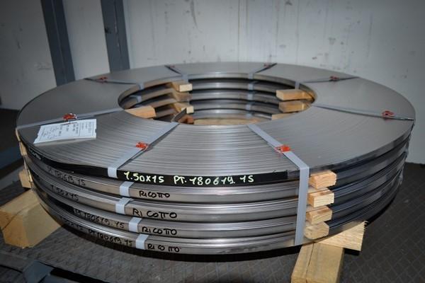 Nastro acciaio AISI 304 ricotto W1.4301